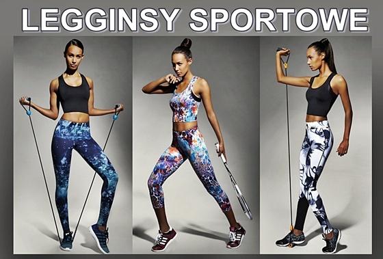Legginsy sportowe